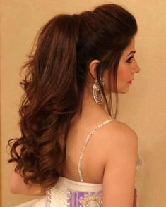 #Trending: Puffy Ponytail Hairstyles That Indian Brides Are Getting Obsessed With! - Wedbook