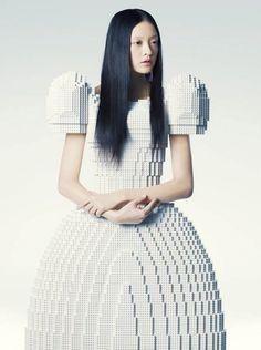 Japanese designer Rie Hosokai