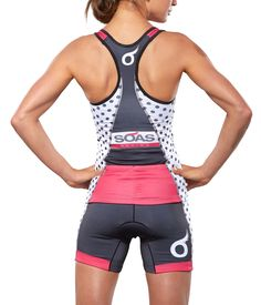 Polka Dot Tri Kit: SOAS Racing