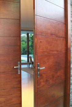 Stockholm Modern Door | Flickr - Photo Sharing! Contemporary Front Doors, Modern Front Door, Decor Interior Design, Interior Decorating, Door Design, House Design, Doors Galore, Hotel Door, Unique Doors