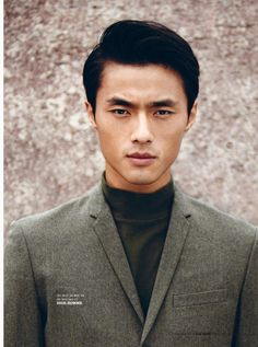 "ELLE VIETNAM: Zhao Lei in ""A Gentle Man"" by Photographer Anaelle Le Roy"
