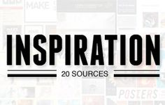 20 inspirational sites for graphic designers