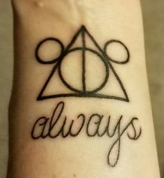 Third tattoo, Harry Potter and Disney