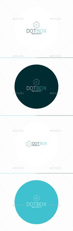 Dot Box Logo  — PSD Template #quick #delivery • Download ➝ https://graphicriver.net/item/dot-box-logo/18280848?ref=pxcr