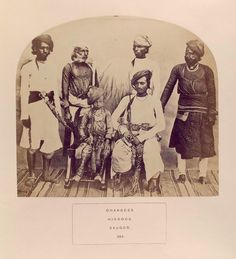 Dhangees, Hindus, Saugor.