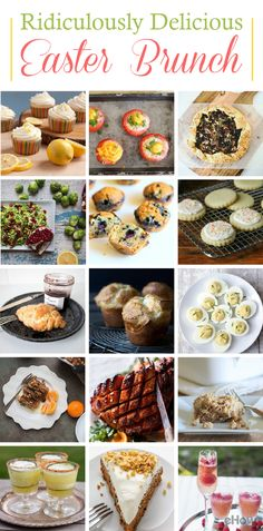 Hosting Easter brunch? These recipes vary from traditional to modern, but guarantee satisfaction across the board! Follow these easy step-by-step recipes and make the best Easter Sunday brunch! http://www.ehow.com/info_8028961_ideas-easter-brunch.html?utm_source=pinterest.com&utm_medium=referral&utm_content=curated&utm_campaign=fanpage