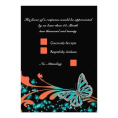 ==> reviews          Blue orange black butterfly RSVP Custom Invite           Blue orange black butterfly RSVP Custom Invite in each seller & make purchase online for cheap. Choose the best price and best promotion as you thing Secure Checkout you can trust Buy bestThis Deals          Blue ...Cleck See More >>> http://www.zazzle.com/blue_orange_black_butterfly_rsvp_custom_invite-161311339666373143?rf=238627982471231924&zbar=1&tc=terrest