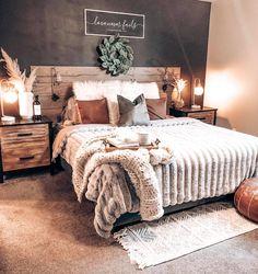 Room Ideas Bedroom, Home Decor Bedroom, Western Bedroom Decor, Cozy Room, Dream Rooms, My New Room, House Rooms, Cozy House, Room Inspiration