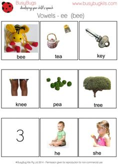 More vowel sheets for free download. Great for CAS or spelling!