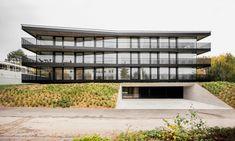 Mehrfamilienhaus in Saint-Sulpice - Sonnenschutz - Wohnen - baunetzwissen.de