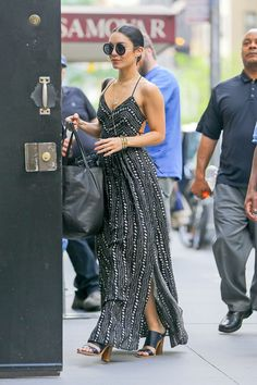 """vanessahudgensfashionstyle: """"  Vanessa Hudgens out in NYC (June 9) """""""
