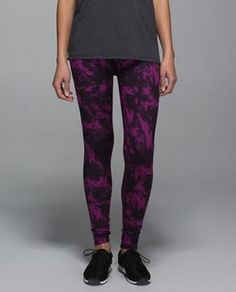b43f47fa0f RARE Lululemon Wunder Under III Pant Color  Breezy Regal Plum. Very rare.  See picture 4 for description.