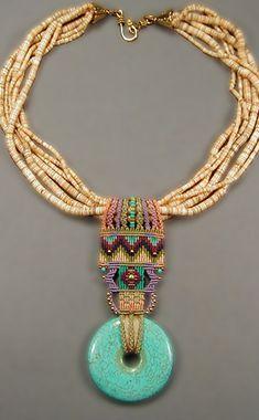 Diy necklace 363384263683409672 - macrame necklace patterns Source by marietacha Macrame Colar, Macrame Necklace, Macrame Jewelry, Tribal Jewelry, Diy Necklace, Necklaces, Bijoux Design, Schmuck Design, Jewelry Design