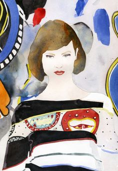 Marcel George Fashion Illustration #fashionaryhand #fashionary #fashionillustration