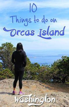 10 fun things to do on Orcas Island, one of the San Juan Islands in Washington http://mytanfeet.com/pacific-northwest/things-to-do-on-orcas-island-san-juan-islands/