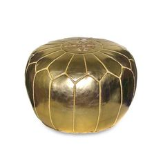 I pinned this Moroccan Pouf in Gold from the Isabella Ottomans event at Joss and Main!