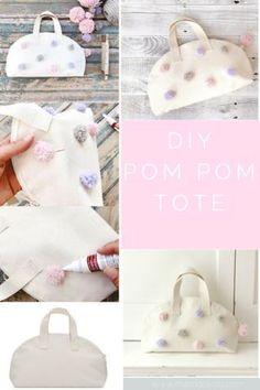 44a23d4e73 DIY Pom Pom Pencil Pouch in 15 Minutes