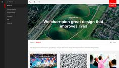 A new, completely device agnostic site created for the Design Council: the UK's champion of great design.