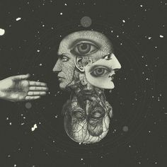 COSMIC ANATOMY // by Plástica , via Behance. I like this cosmic background; have looked at lots of renderings of stars and like the texture & color of this one a lot