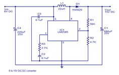 #DCToDCConverter  is an electronic circuit or electromechanical device that converts a source of direct current from one voltage level to another.
