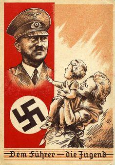 Nazi Propaganda Poster and other photos of Adolf Jacob Hitler and the Hitler family. Nazi Propaganda, Nagasaki, Hiroshima, Ww2 Posters, Fukushima, Illustrations And Posters, World War Two, Vintage Posters, Wwii