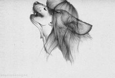 Half wolf half girl drawing | Drawing Ideas | Pinterest | Girl ...