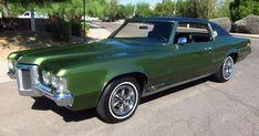1969 Pontiac Grand Prix Model J. The old man had one when I was a kid. Retro Cars, Vintage Cars, Antique Cars, General Motors, Pontiac Cars, American Classic Cars, Pontiac Grand Prix, Old School Cars, Sweet Cars