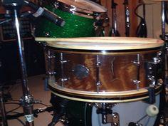 My beatboogie quality custom drums wood hoop snare:)