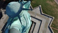 Virtual Field Trip - Check out the Crown Cam and the Torch Cam on the Statue of Liberty.