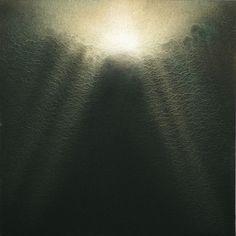 Kiyoshi NAKAGAMI, Untitled, 2013  23 ¾ x 23 ¾ inches, 60.3 x 60.3 cm - Acrylic, Chinese ink and mica on canvas  $ 15,000  www.galerierichard.com           info@galerierichard.com