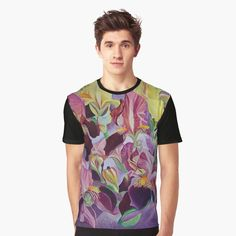 Marguerite Rose, Rose Violette, Flower Graphic, Tropical Pattern, Watercolor Rose, Watercolor Painting, Dark Backgrounds, Abstract Photography, My T Shirt