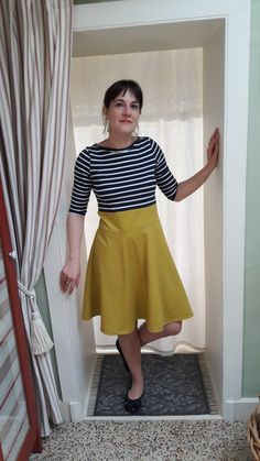 Cette année, j'ai participé au « Me made may Waist Skirt, High Waisted Skirt, Couture, Skirts, Vintage, Style, Fashion, Fashion Ideas, Haute Couture