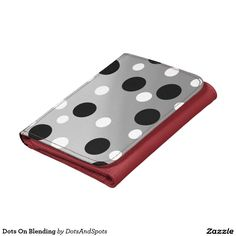 Dots On Blending Leather Wallets
