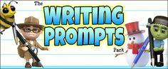 The Writing Prompts Pack contains hundreds of resources, images and activities to inspire and enhance your children's writing!