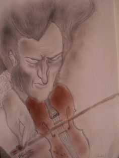Niccolò Paganini Elisabetta Portaluppi (BettyRedRoseCrow)