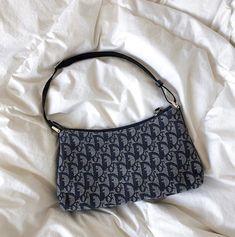 Christian Dior Pre-Owned Trotter Shoulder Bag - Farfetch Chanel Handbags, Purses And Handbags, Dior Bags, Cheap Handbags, Hobo Purses, Glam Glow, Aesthetic Bags, Cristian Dior, Accessoires Iphone