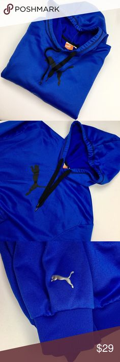Royal Blue Puma Hoodie Used in Excellent Condition/ No Trades/ No PayPal/ Smoke & Pet Free Home/ Offers welcome/ Please Ask Questions! Puma Shirts Sweatshirts & Hoodies
