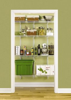 Rubbermaid Pantry Kit I actually just wanted to save the colors Farmhouse Style Kitchen, Modern Farmhouse Kitchens, Kitchen Grey, Kitchen Small, Ikea Kitchen, Country Kitchen, Interior Design Living Room, Living Room Designs, Interior Office