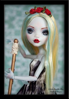 Custom Monster Repaint Commission Includes Doll by IvyHeartDesigns