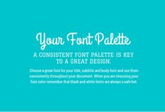 How many fonts do you use in a single design?