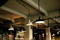 Usine Eindhoven NL (old Philips lighting factory, now cafe)