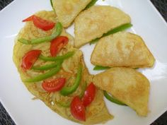 """(African) yam: Coated Yam (or Savory Yam """"French toast""""-style) with onion omelet"""