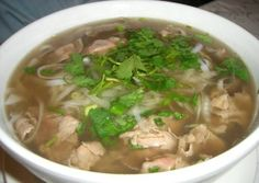 The national dish of Vietnam.