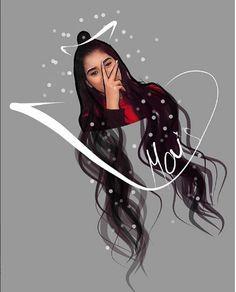 Girly Drawings, Cartoon Drawings, Art Drawings, Girly M, Cute Cartoon Girl, Celebrity Drawings, She Girl, Digital Art Girl, Manga Girl