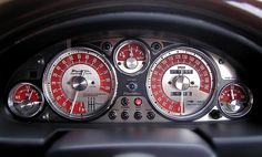 Gauge cluster and some interior upgrades - Miata Forum Golf Mk1, Interior Design Games, Mazda Roadster, Custom Car Interior, Car Upholstery, Car Goals, Mazda Miata, Car Detailing, Custom Cars