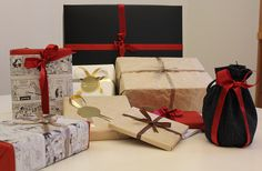 Ideas for gift wrapping, ideoita lahjojen paketointiin. www.pisadesign.fi