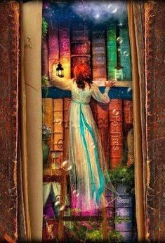 Find The Curious Library Notebook by Aimee Stewart at Blurb Books. The artwork of Aimee Stewart leads you on a journey through an enchanted library full of whims. I Love Books, My Books, Reading Art, World Of Books, Book Nooks, Oeuvre D'art, Book Lovers, Dragons, Fantasy Art