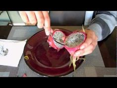Dragon Fruit Tasting and Seed Planting - YouTube