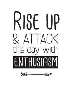 Start your day with a positive mindset. It is amazing how your day will go if you start your day off right. What is your morning routine?  #enthusiasm #riseup #positive #morning #yycliving #yyc #wisewords #qotd