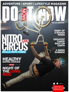 DO IT NOW Magazine - February 2014 : DO IT NOW Magazine #34 is now available and this issue is a showstopper! Cover stories include Nitro Circus' tour to South Africa, which featured more than 40 of the world's best action sports athletes performing daring and often record-breaking tricks in freestyle motocross, BMX and skateboarding, along with heart-stopping stunts on unique contraptions. 'Diary of a rough rider' is about a group o...   More